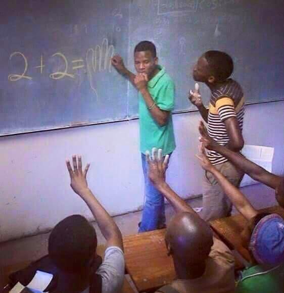Африканская математика
