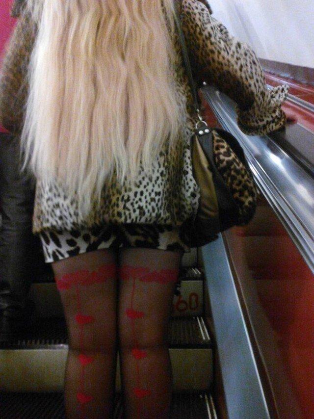 чудики в метро 12