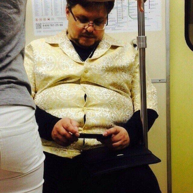 чудики в метро 24