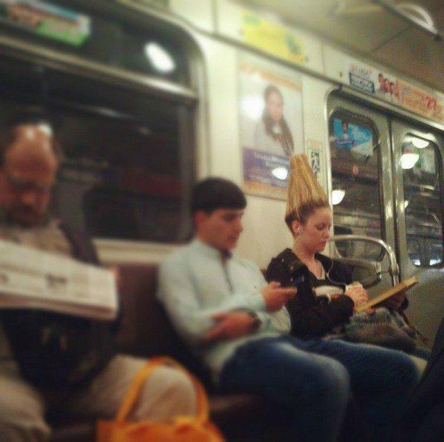 чудики в метро 28
