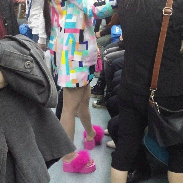чудики в метро 29