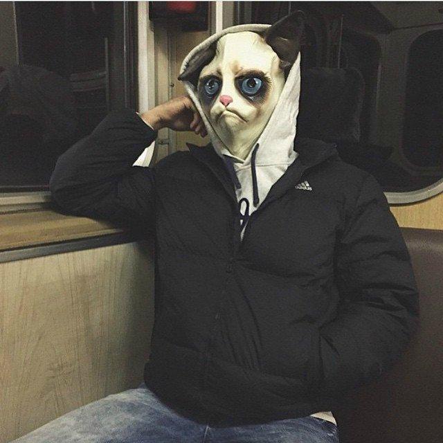 чудики в метро 8