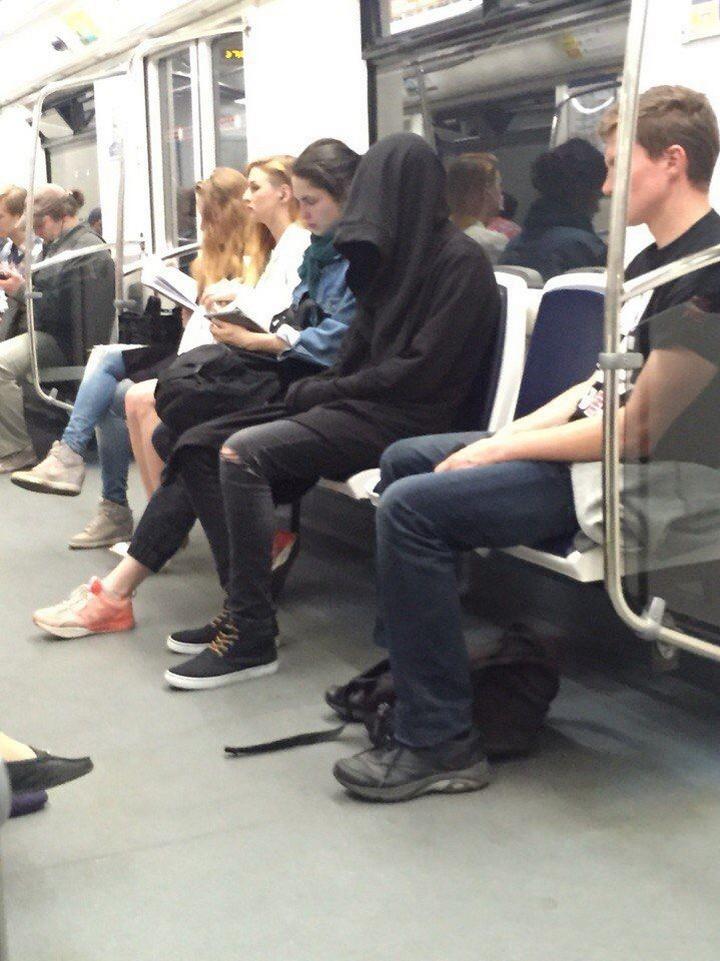 Модники из pоссийского метрополитена 10