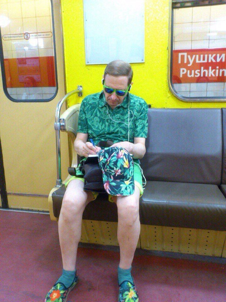 Модники из pоссийского метрополитена 11