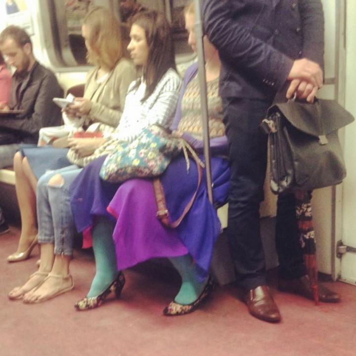 Модники из pоссийского метрополитена 20