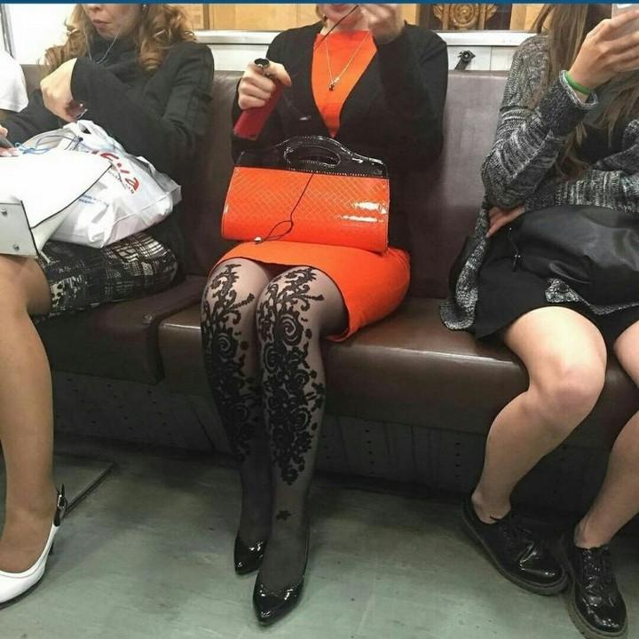 Модники из pоссийского метрополитена 21