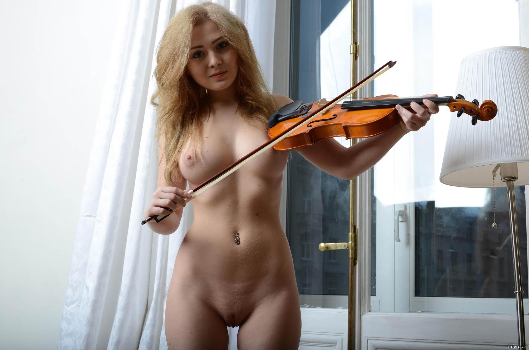 Порно на скрипке
