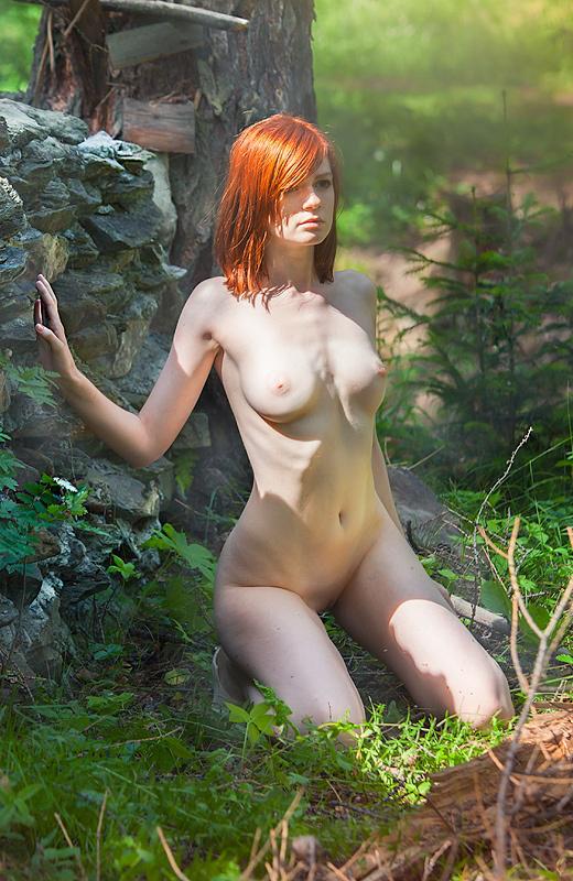 Фото голая нимфа