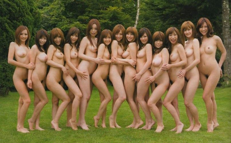 фото японское ню