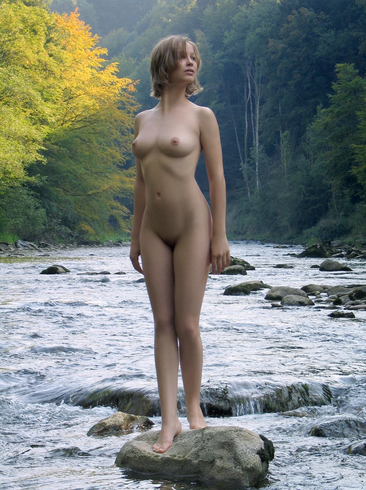 Norwegian nude blonde goddess