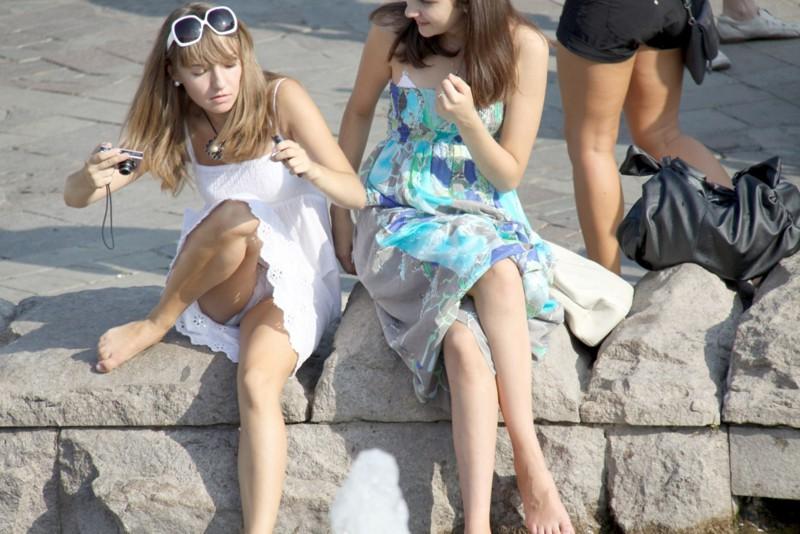 Девушки приколы засветы фото