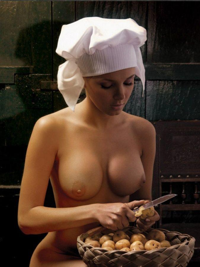 фото голая повариха