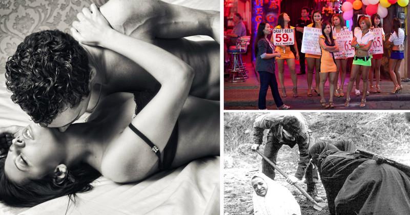 секс фото наказаний за измену в странах мира