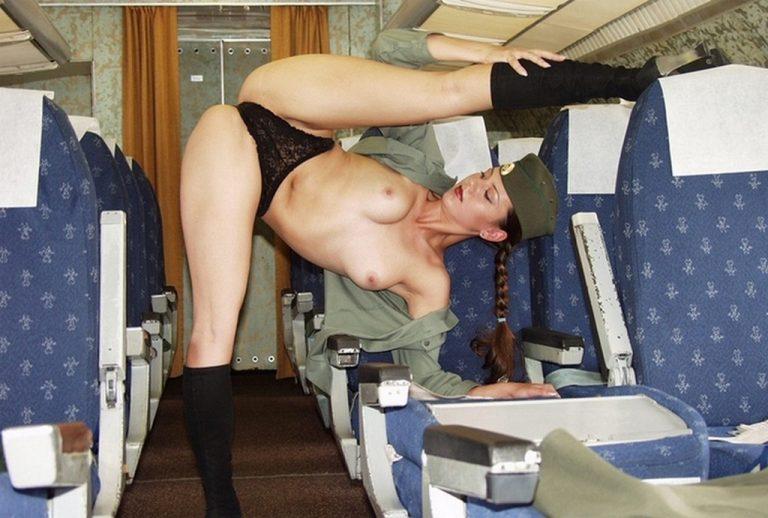 Девушки стюардессы порно фото