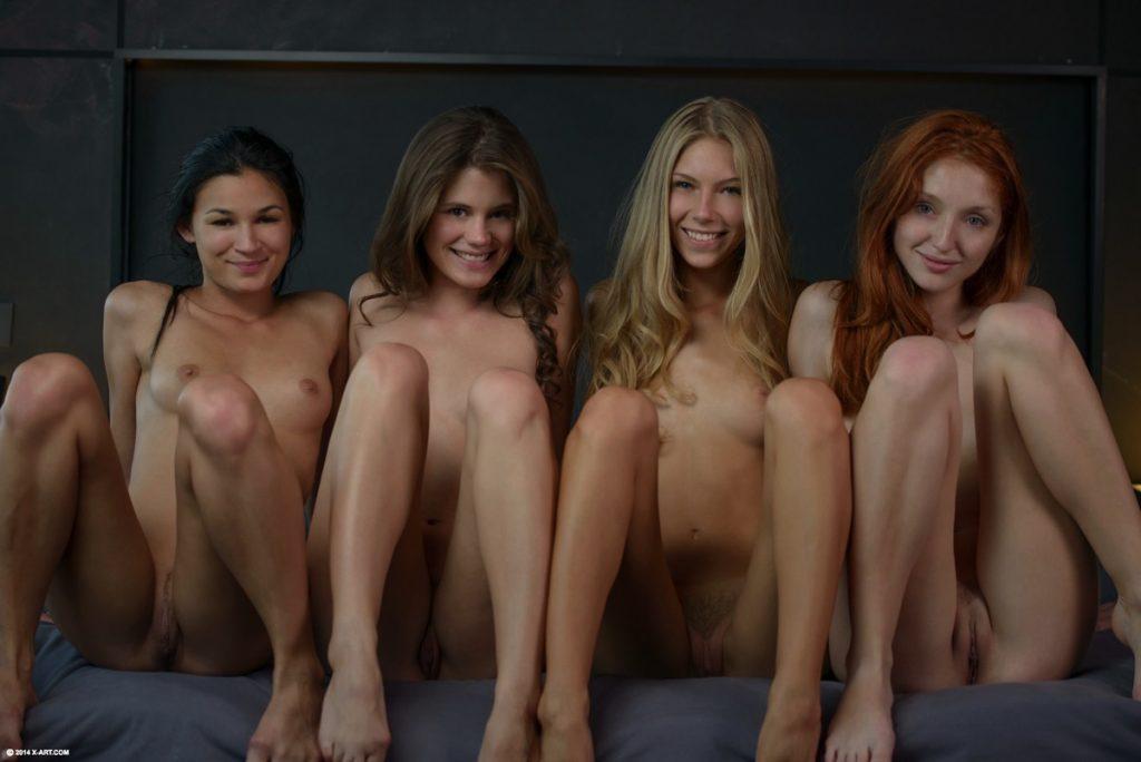 голые девушки группа фото