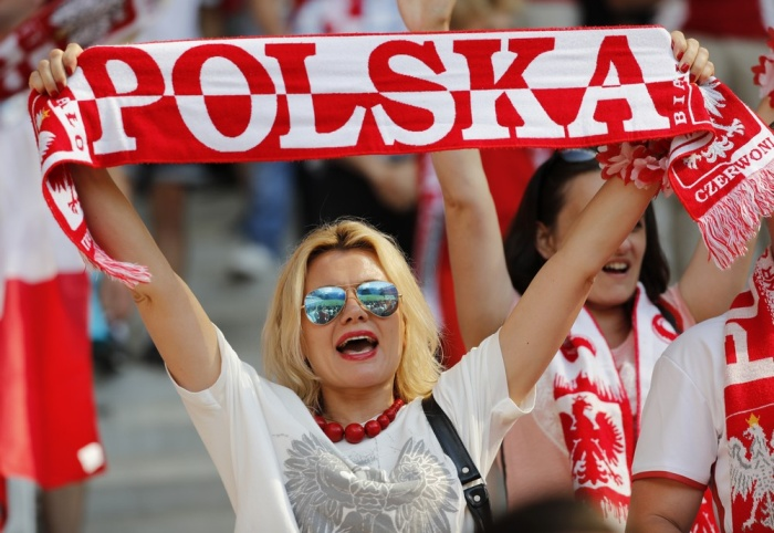 Football Soccer - Poland v Northern Ireland - EURO 2016 - Group C - Stade de Nice, Nice, France - 12/6/16 Poland fan before the match REUTERS/Jean-Paul Pelissier Livepic