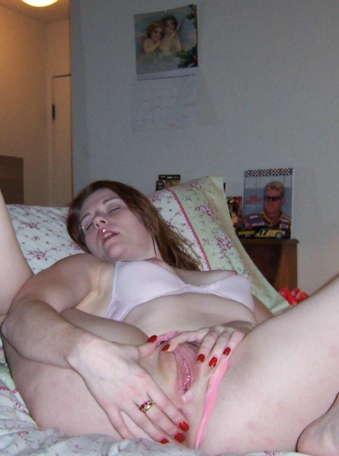 фото жен голышом дома мастурбирующих