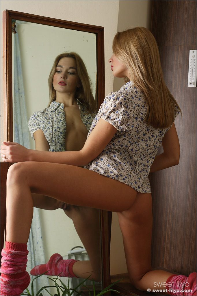 Not Free pics of young naked girls in the mirror nice