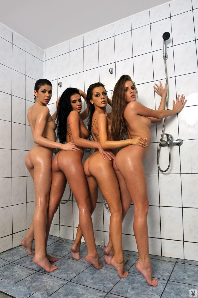 Girls naked in the shower pics