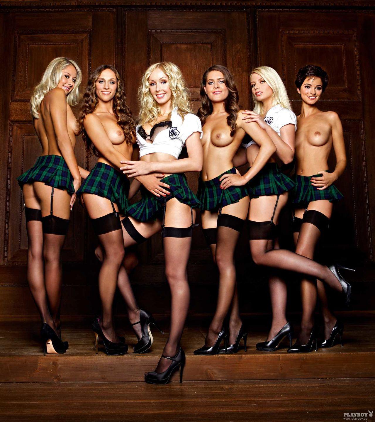 Sexy group girls