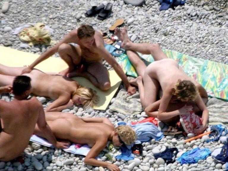 фото развлечения нудистов