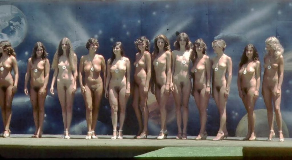 Vintage miss nude contest 1975 10