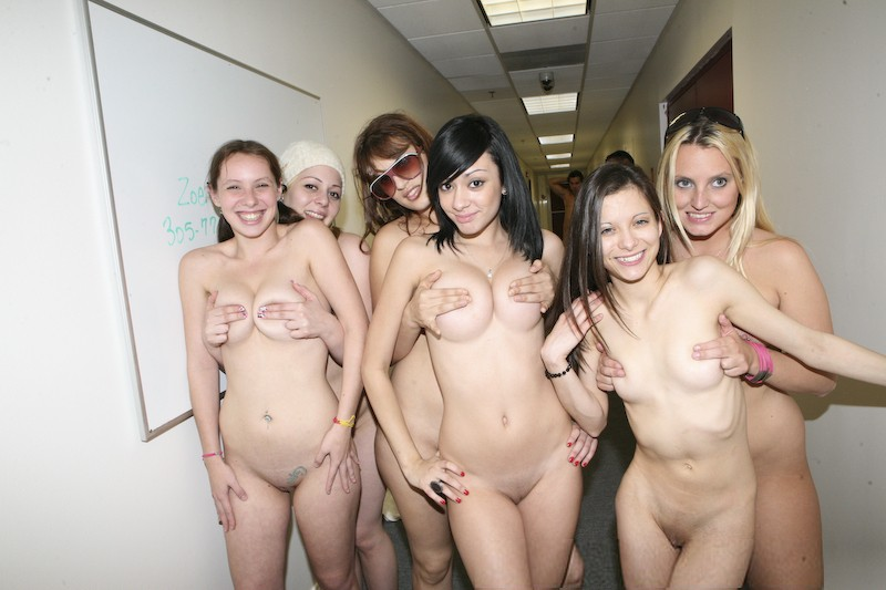 Plymouth University Students Strip Off For A Good Cause