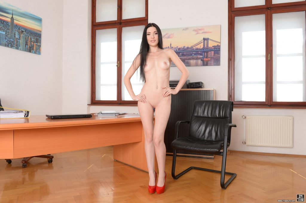 Sexy naked office working girls #1
