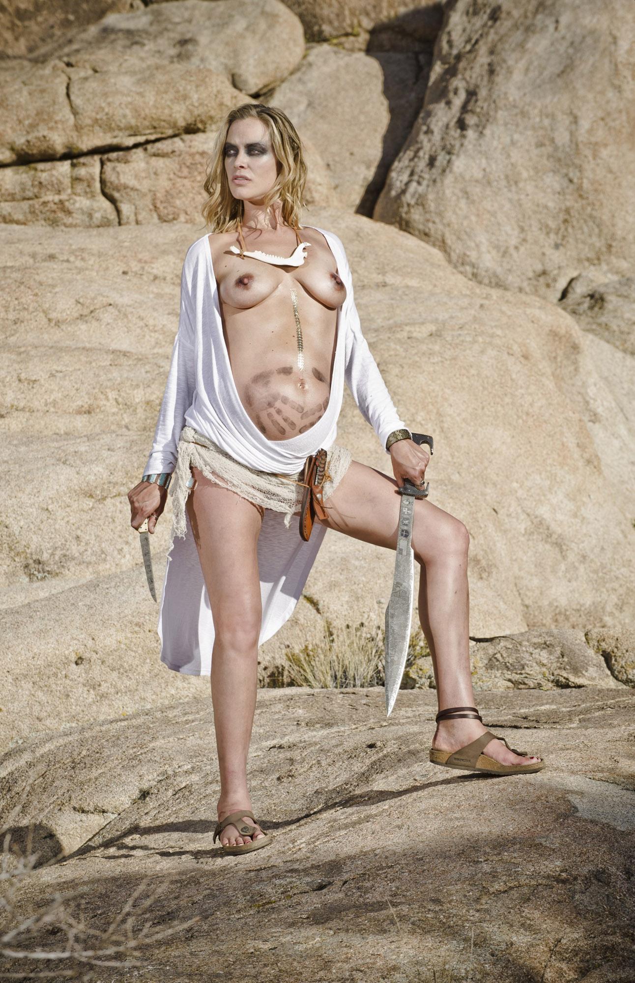 Kristanna loken tits